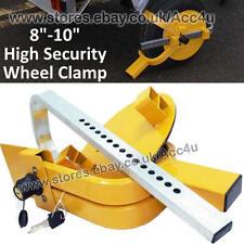 "Maypole MP9061 Caravan Trailer Security Strong Visible 8"" 9"" 10"" Wheel Clamp"