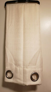 RT Designers Collection Layne Textured 54 x 90 in. Grommet Curtain Panel, Beige