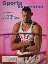 1965 4/12 Sports Illustrated,Basketball magazine,Wilt Chamberlain,Philadelphia V