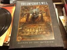 The Emperor's Will, Warhammer 40,000; Agents of the Imperium; HC