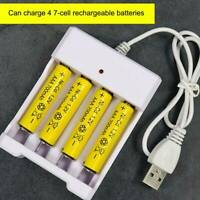 4-Slots Intelligent Battery Charger For AA/AAA NiCd NiMh Rechargeable Batteries