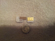 Lot of 2 Verizon Micro Sim Cards Testing&Bypass Only! Not For Activation! *Read!