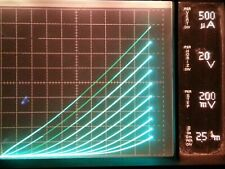 TELEFUNKEN 12AX7 ECC83 1958 EARLY RARE SMALL LOGO TESTS NOS VACUUM TUBE SINGLE