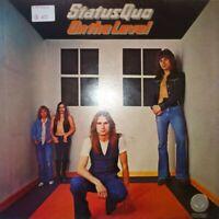 VINILE LP STATUS QUO - ON THE LEVEL 33 GIRI ANNO 1975 VERTIGO 6360117 ROCK ITALY