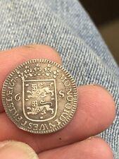 More details for 17th century west friesland 1678 netherlands silver 6 stuivers