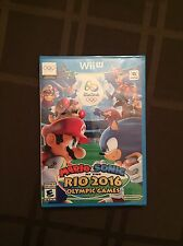 Mario & and Sonic at the Rio 2016 Olympic Games (Nintendo Wii U 2016) NEW SEALED