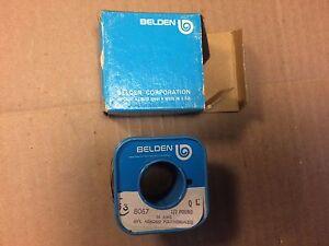 NOS Vintage Belden 8067 30 AWG 1/2 lb Wire Spool Hvy Armored Polythermaleze NIB