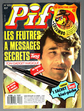 ¤ PIF GADGET n°1055 ¤ 06/1989 ¤ AVEC POSTER COLUMBO