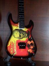 Mini Guitar METALLICA KIRK HAMMETT Mummy GIFT Memorabilia FREE STAND ART