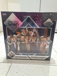 Doctor Who. Anniversary edition. The Doctors. 500 Piece Puzzle, new sealed