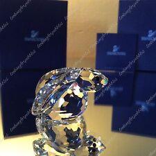 Swarovski Crystal Bunny Rabbit BNIB/COA! #7678 001/ 208326 Retired Swan logo!