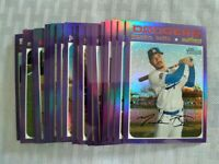 2020 Topps Heritage High Number 1971 Chrome PURPLE HOT BOX REFRACTORS - You Pick
