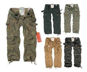 Surplus Premium Cargo Army Hose Vintage Outdoor Militär Cargohose Tarnhose Baggy