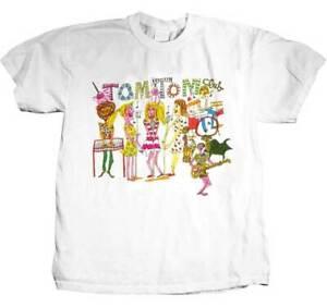 Tom Tom Club New Wave Synthpop Dance Retro Disco Music Band T Shirt TTC-1001