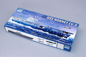 TRUMPETER 05727 1/700 WWⅡ USS HORNET CV-8 PLASTIC AIRCRAFT CARRIER MODEL KIT