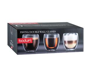 Bodum Pavina Double Wall Glasses 6 x 250ml