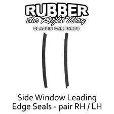 1957 1958 1959 Ford & Edsel Side Window Seals - pair - 4 Door Hardtops