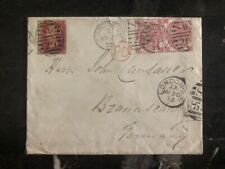 1873 London England Cover To Germany