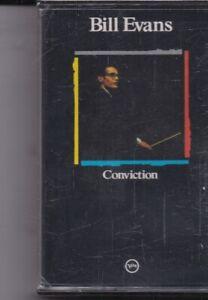 Bill Evans-Conviction Music Cassette Sealed
