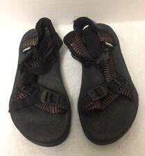 3130634e8 Teva Boys Youth Size 3.5 Brown Black Hiking Sport Sandals