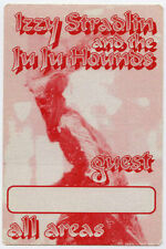 Izzy Stradlin (Guns n Roses) ORIGINAL 1992 Tour Backstage Guest Pass - AA unused