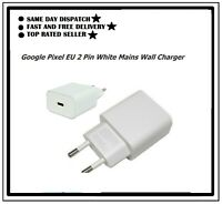 new Google Pixel EU 2 Pin White Mains Wall Charger - TC G1000-EU