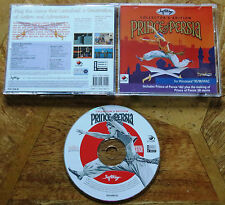 Prince of Persia Collector's Edition (PC CD-ROM) Comme neuf CONDITION - 1st deux jeux