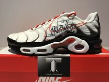 Nike Air Max Plus TN Sketch Logo ~ CK9392 100 ~ Uk Size 6.5 ~ Euro 40.5