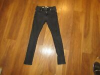 "Top Man Men's Zip Fly Spray on Skinny Jeans Waist 28"" Leg 29"""