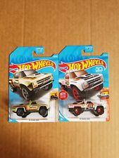 Hotwheels 1987 Dodge D100 ( Lot Of 2 )