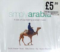 Simply Arabia (4CD), Various / Box set