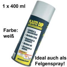 Plasti Dip it Flüssiggummi Felgenfolie Sprühfolie Spraydose 1x 400ml Weiss Weiß