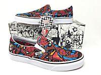 Vans Marvel Spider-Man Classic Slip-On Avengers Endgame Mens Shoe (VN-0A38F79H7)