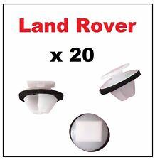 20 x Range Rover Evoque Exterior Door Trim Plastic Moulding Clips
