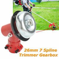 7 Spline Brushcutter Gear Head Gearbox for Gearbox Gearhead Trimmer 26mm