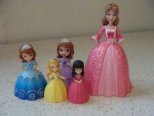Sofia the First Royal Princess MAGIC CASTLE Dolls lot of 5