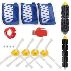 For iRobot Roomba Aerovac 600 Series 620 630 650 Replacement Brush Filter Kit US
