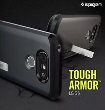 Spigen TOUGH ARMOR LG G5 Case Reinforced Kickstand Heavy Duty Protection NEW
