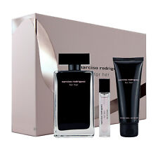 Narciso Rodriguez for Her 100ml Eau de Toilette & 10ml EDT & 75ml Body Lotion