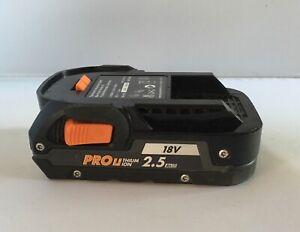 Aeg 18v lithium  battery 2.5 ah