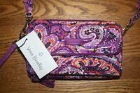 Vera Bradley Iconic RFID All In One Crossbody Dream Tapestry wristlet wallet NEW
