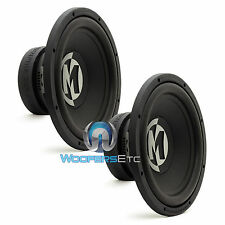 "2 MEMPHIS PR12D4V2 CAR SUBS DVC 12"" 1200W LOUD PRO BASS SUBWOOFERS SPEAKERS NEW"