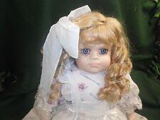2001 Bloomsburg PA Fair Porcelain Doll *A2-1