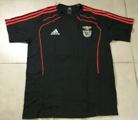 Men's Adidas BENFICA PORTUGAL TRAINING Soccer Sz M FOOTBALL SOCCER SHIRT JERSEY