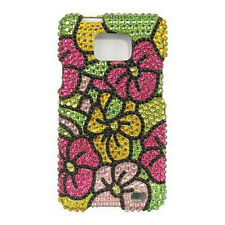 Hawaii Flower Crystal Diamond BLING Case Phone Cover AT&T Samsung Galaxy S II 2