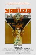 THE YAKUZA Movie POSTER 27x40 B Robert Mitchum Richard Jordan Ken Takakura Brian