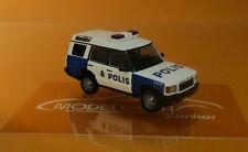 Busch 51921 PKW H0 Land Rover Discovery II Polis Schweden 1:87