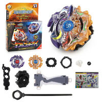 Beyblade Burst B-00 Double God w/ Launcher Grip Set Bays Blades Gift