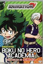 Anime DVD Boku No Hero Academia Season 3 Vol.1-25 End English Dubbed