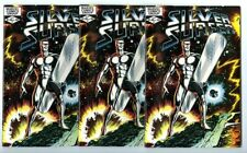 Silver Surfer #1 (1982) 3 copies Avg NM New Marvel Collection